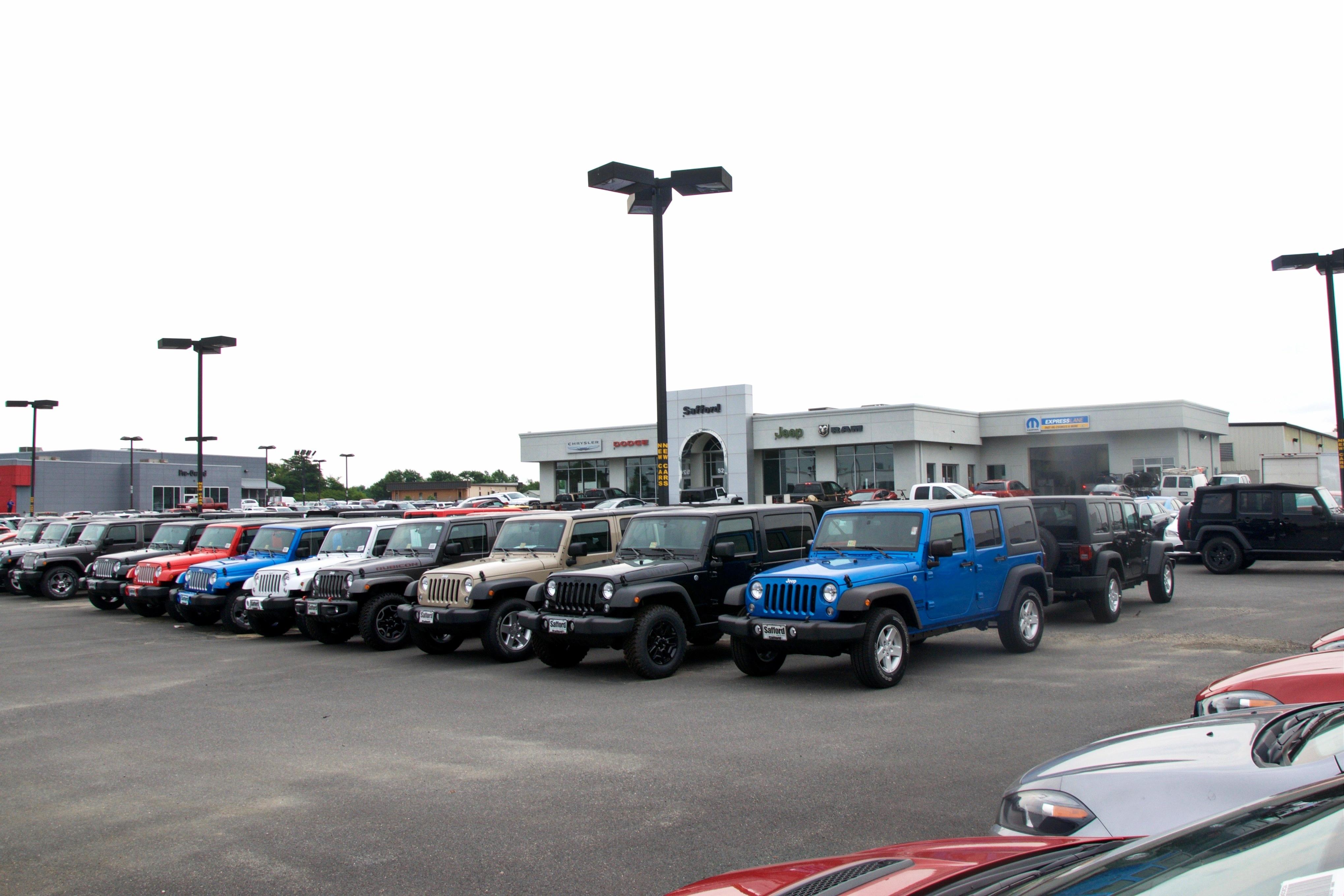 Safford Of Fredericksburg VA Jeep Chrysler Dodge Ram Dealership - Chrysler dealership phone number