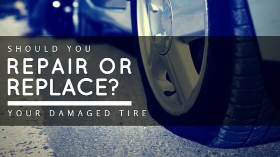 Tire Damage Repair Or Replace Safford Cjdr Of Warrenton