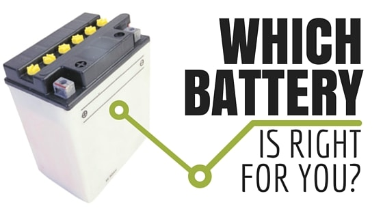 Which Car Battery Type Is Right For You Infographic