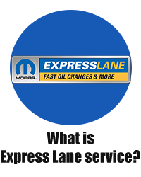 What is Express Lane Service?