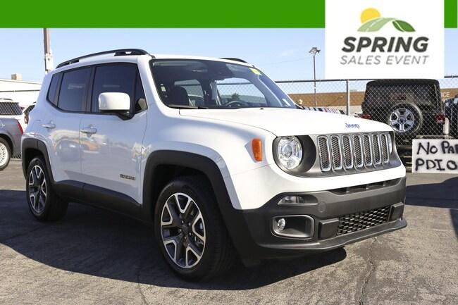 New 2018 Jeep Renegade LATITUDE 4X2 Sport Utility Las Vegas