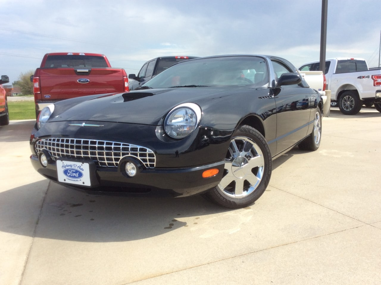 2002 Ford Thunderbird Removable Top Premium Convertible