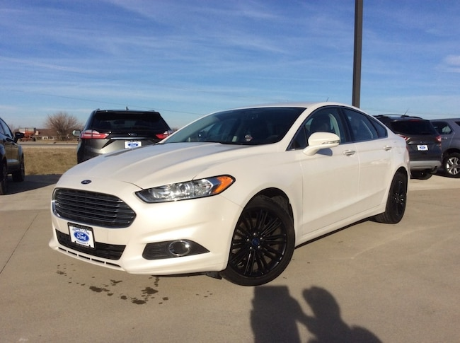 2016 Ford Fusion SE 4WD Car