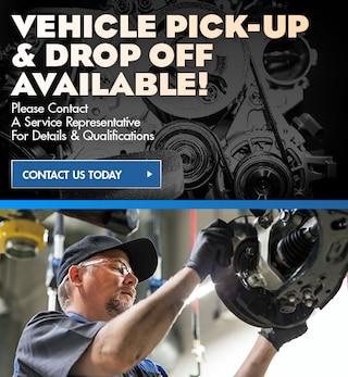 Vehicle Drop-Off & Pick-Up