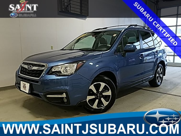 Certified Used 2018 Subaru Forester 2.5i Limited SUV near Burlington Vermont