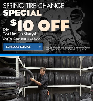 Spring Tire Change Special