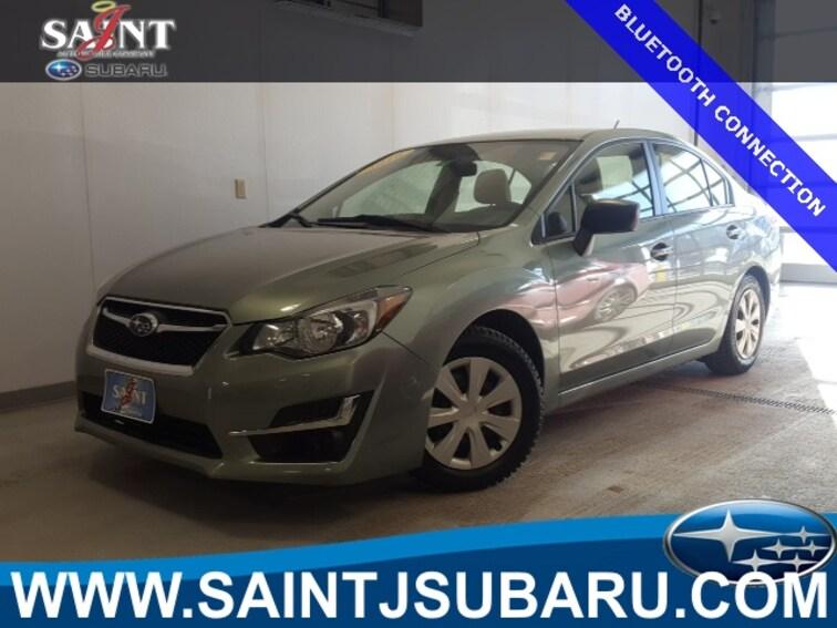 Used 2016 Subaru Impreza 2.0i Sedan near Burlington Vermont