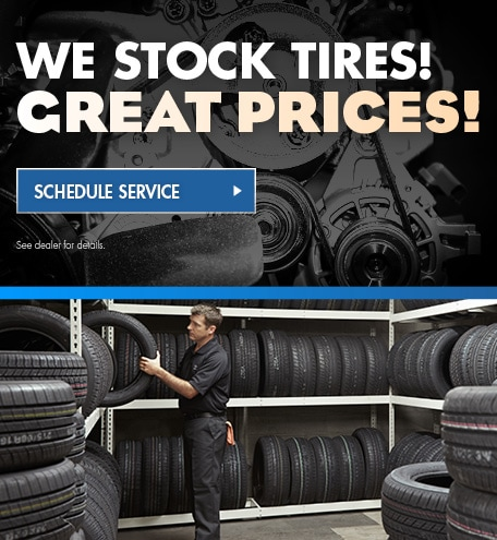We Stock Tires! Great Prices!