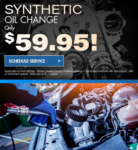 $59.95 Synthetic Oil Change