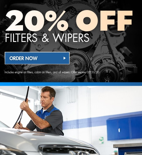 20% Off Filters & Wipers