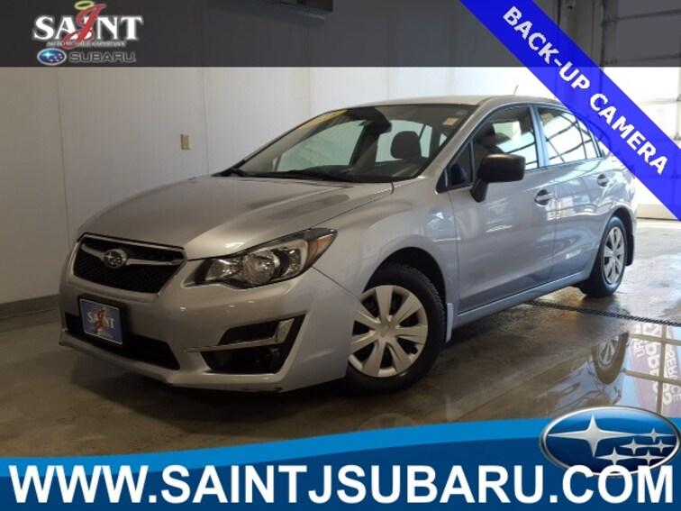 Used 2016 Subaru Impreza 2.0i 5-door near Burlington Vermont
