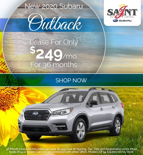 2020 Outback May Offer