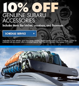 10% OFF Genuine Subaru Accessories