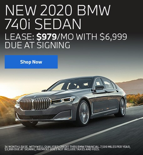 NEW 2020 BMW 740i SEDAN July