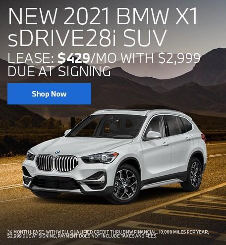 NEW 2021 BMW X1 sDRIVE28i SUV