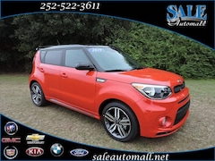 New 2019 Kia Soul + Hatchback for sale in Kinston, NC