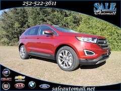 Used 2018 Ford Edge Titanium SUV for sale in Kinston, NC