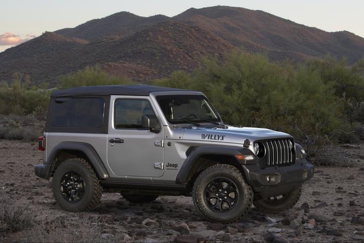 2020 Jeep Wrangler Willys NJ