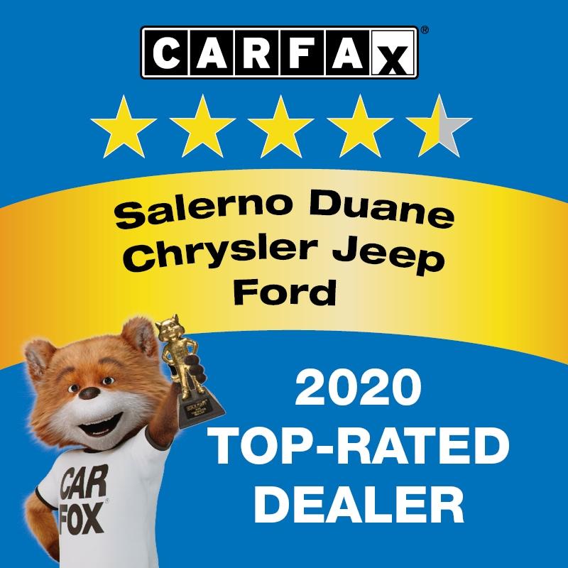 2020 CARFAX Top Rated Dealer