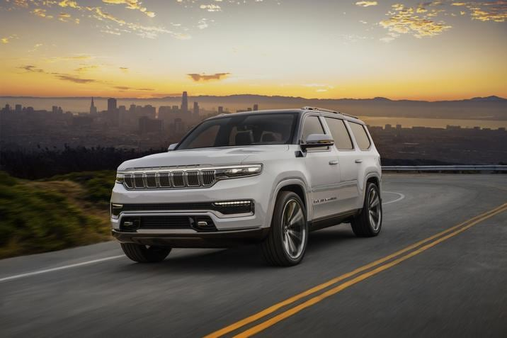 New Jeep Grand Wagoneer Concept NJ