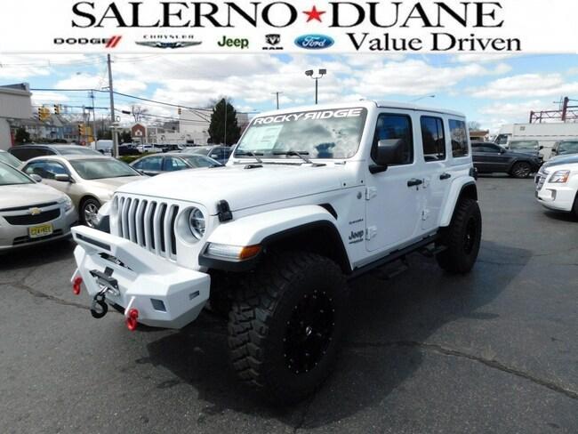 2018 Jeep Wrangler Rocky Ridge All-New Unlimited Sahara Sport Utility