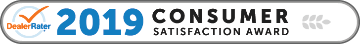 Banner: 2019 Consumer satisfaction award