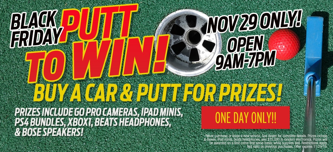 Black Friday Putt to Win Event