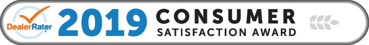 2019 DealerRater Consumer Satisfaction Award