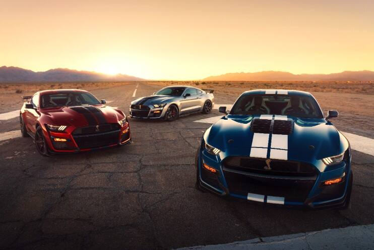2020 Ford Mustang GT500 NJ