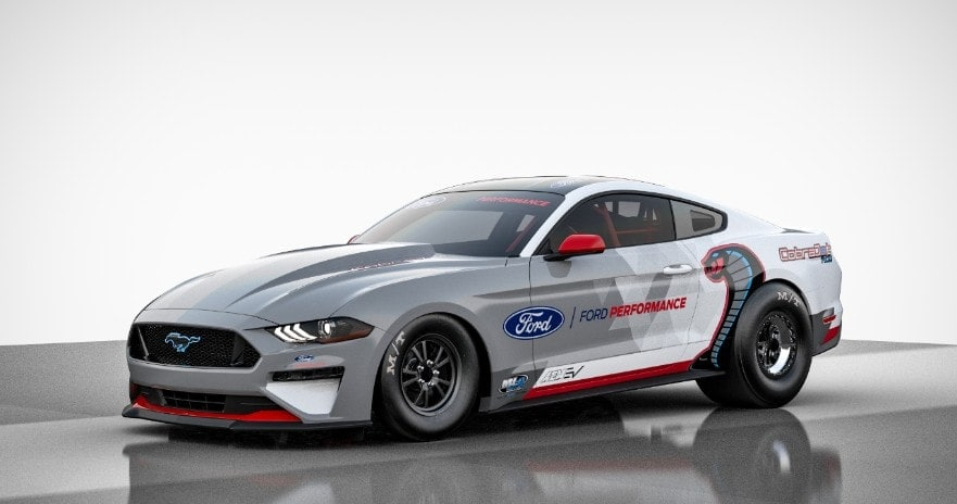 All-Electric Ford Mustang Cobra Jet 1400 Prototype
