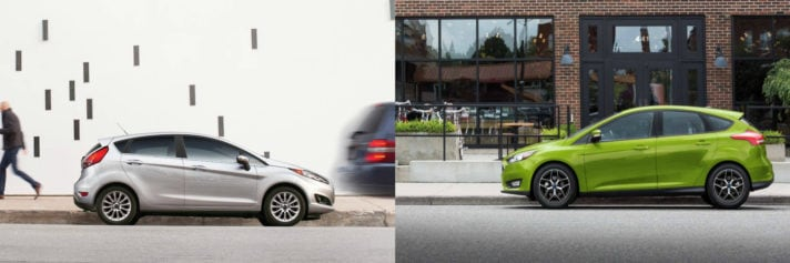 Ford Focus vs Ford Fiesta NJ