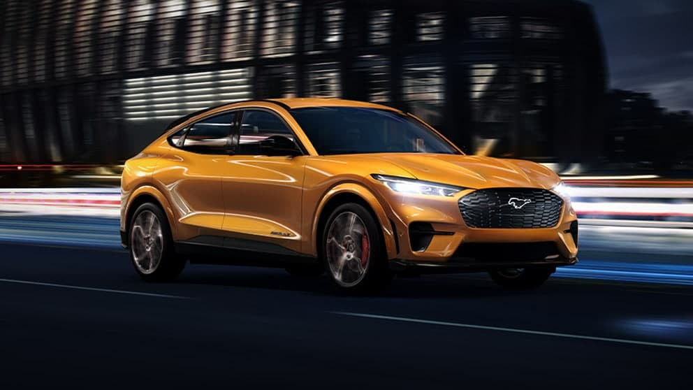2021 Ford Mustang Mach E Awards