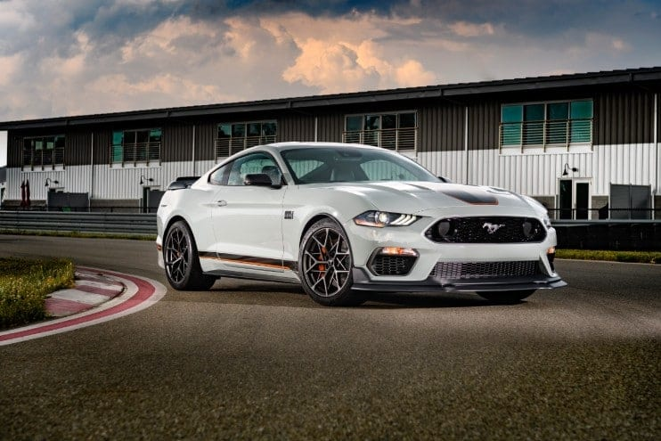 2021 Ford Mustang Mach 1 NJ