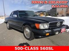 1986 Mercedes-Benz 500-Class 560 SL Convertible