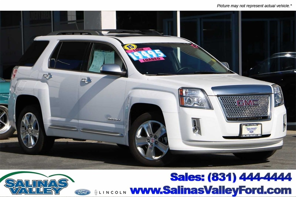 Used 2015 GMC Terrain Denali Summit WhiteFor Sale | Salinas, Seaside