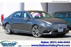 Used 2017 Lincoln Continental Select Sedan