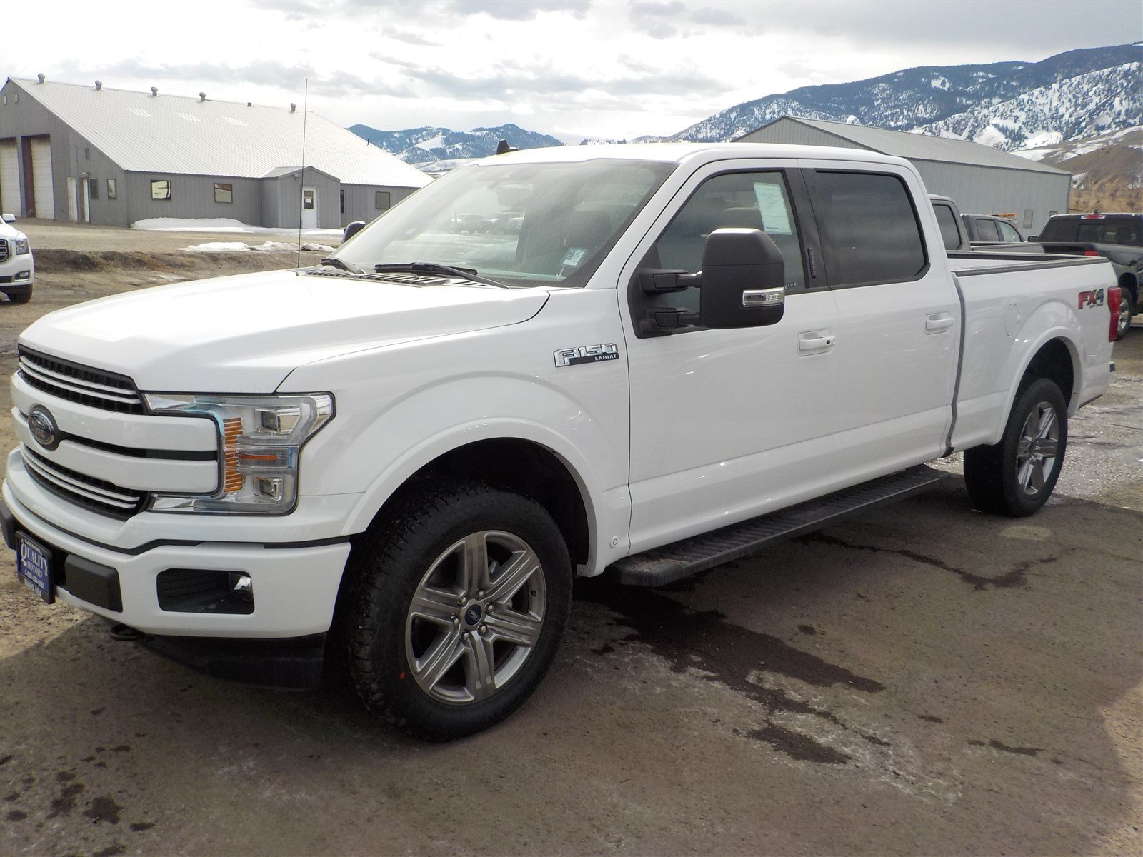 2019 Ford F-150 LARIAT LARIAT 4WD SuperCrew 6.5 Box