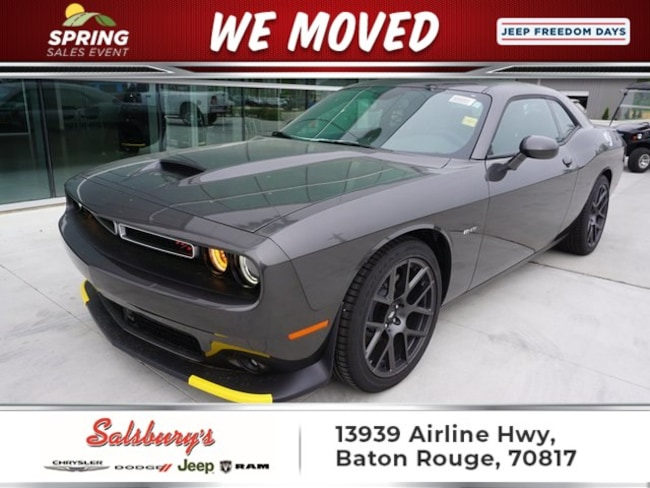 New 2019 Dodge Challenger R/T Coupe in Baton Rouge
