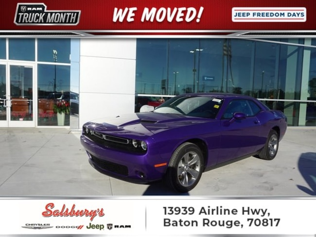 New 2019 Dodge Challenger SXT Coupe in Baton Rouge
