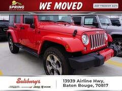 Used 2018 Jeep Wrangler JK Sahara SUV in Baton Rouge