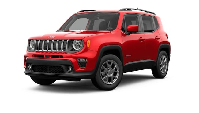 New 2019 Jeep Renegade LATITUDE 4X2 Sport Utility in Baton Rouge