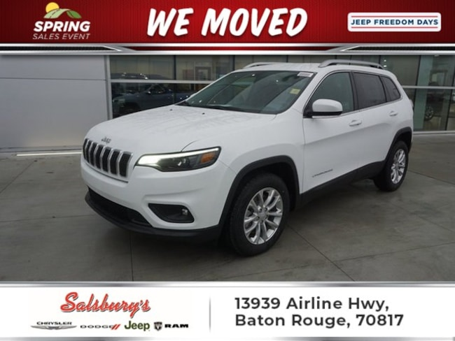 New 2019 Jeep Cherokee LATITUDE FWD Sport Utility in Baton Rouge