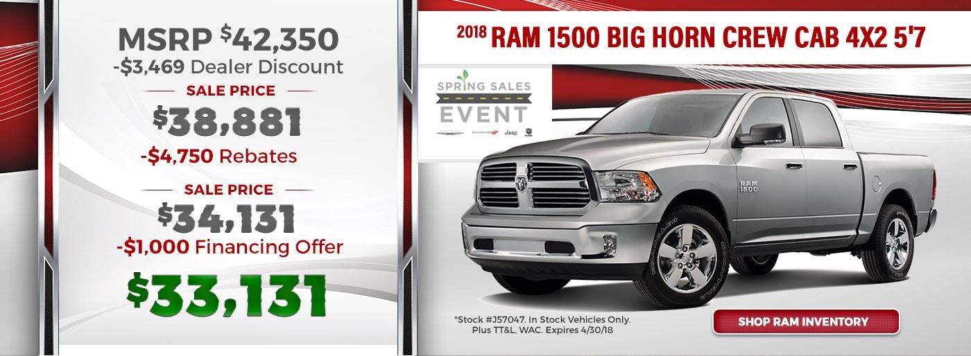 Dodge Dealership Baton Rouge >> Salsbury's Chrysler Dodge Jeep Ram | Baton Rouge LA New ...