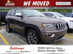 Used 2018 Jeep Grand Cherokee Limited SUV in Baton Rouge