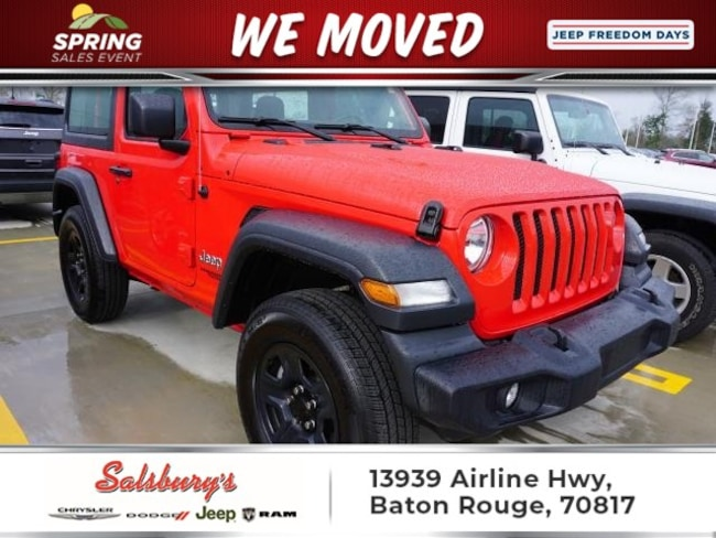 Used 2018 Jeep Wrangler Sport SUV in Baton Rouge