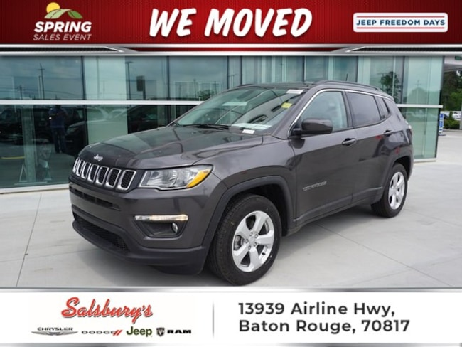 New 2019 Jeep Compass LATITUDE FWD Sport Utility in Baton Rouge
