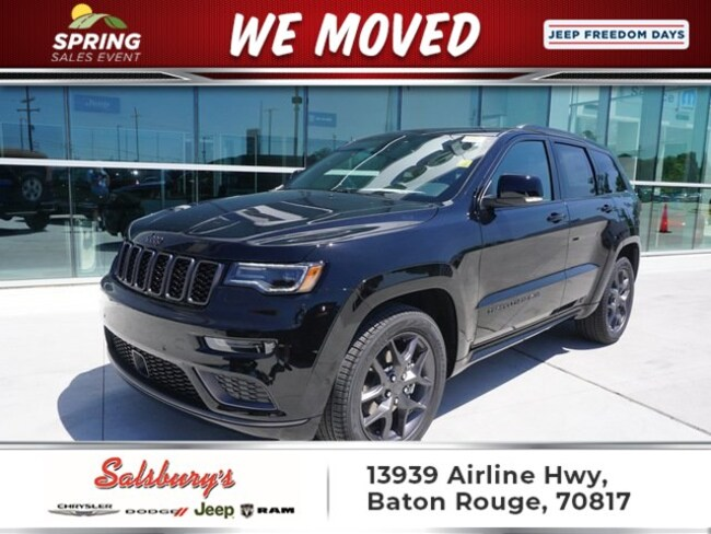 New 2019 Jeep Grand Cherokee LIMITED X 4X2 Sport Utility in Baton Rouge