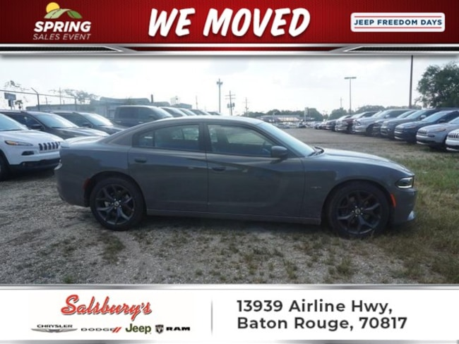 New 2018 Dodge Charger R/T RWD Sedan in Baton Rouge