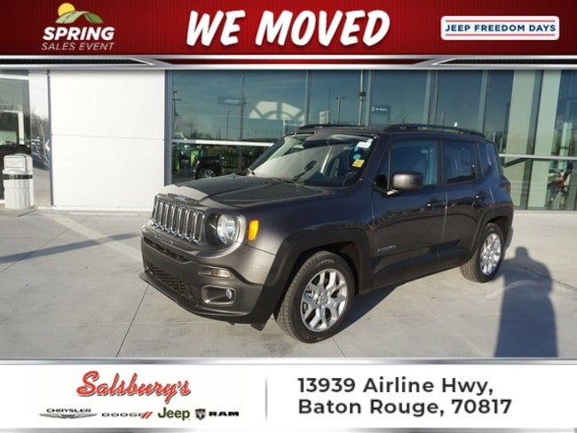 New 2018 Jeep Renegade LATITUDE 4X2 Sport Utility in Baton Rouge
