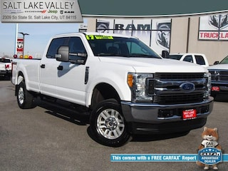 Used 2017 Ford Super Duty F-250 SRW XLT 4WD Crew Cab 8 Box Truck Truck for sale in Salt Lake City